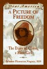 A Picture of Freedom: The Diary of Clotee, a Slave
